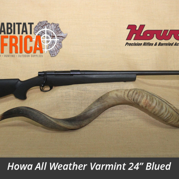 Howa All Weather Varmint 24 inch Fluted Hunting Rifle