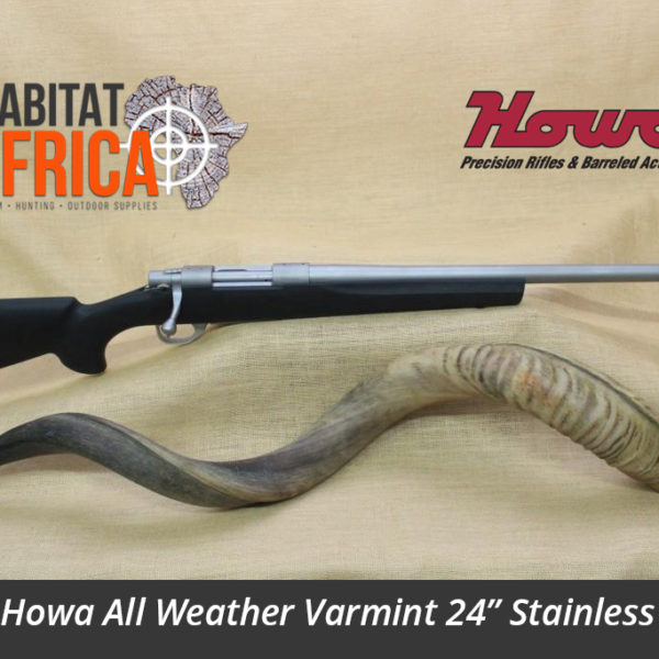 Howa All Weather Varmint 24 inch Stainless Hunting Rifle