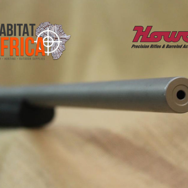 Howa All Weather Varmint 24 inch Stainless Hunting Rifle Barrel Closeup