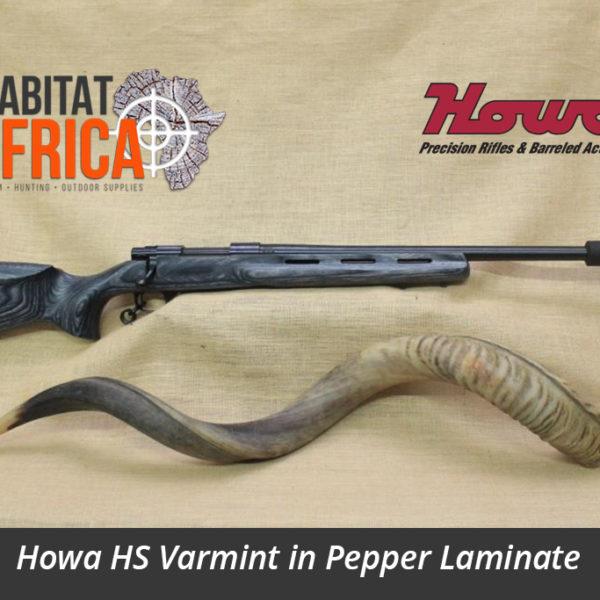 Howa HS Varmint Hunting Rifle in Pepper Laminate
