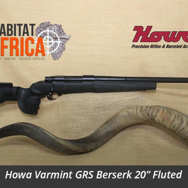 Howa Varmint GRS Berserk 20 inch Fluted Hunting Rifle