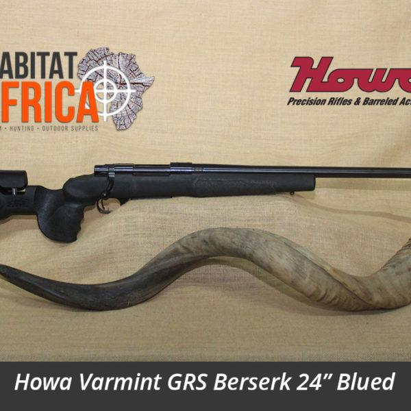 Howa Varmint GRS Berserk 24 inch Blued Hunting Rifle
