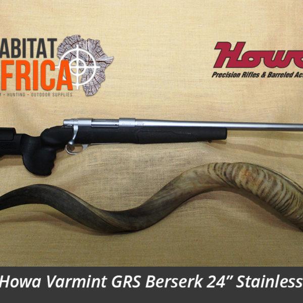 Howa Varmint GRS Berserk 24 inch Stainless Steel Hunting Rifle