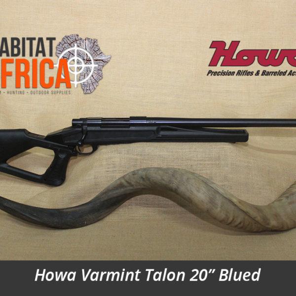 Howa Varmint Talon 20 inch Blued Hunting Rifle