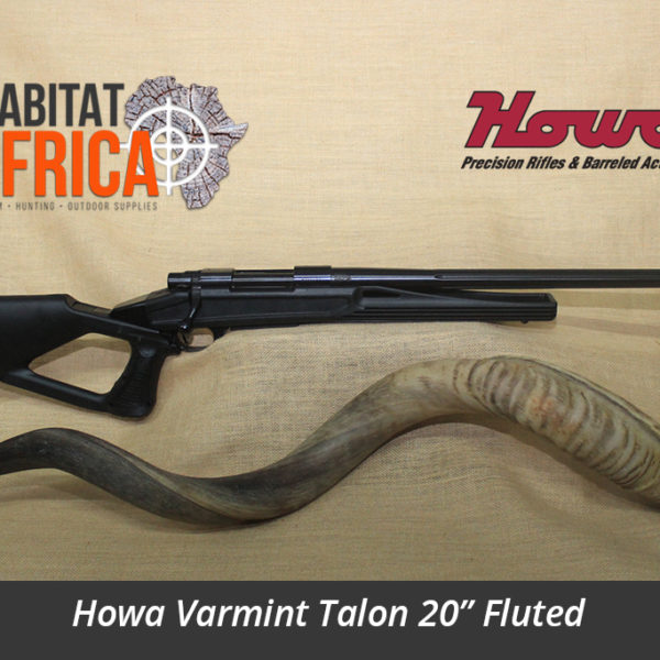 Howa Varmint Talon 20 inch Fluted Hunting Rifle