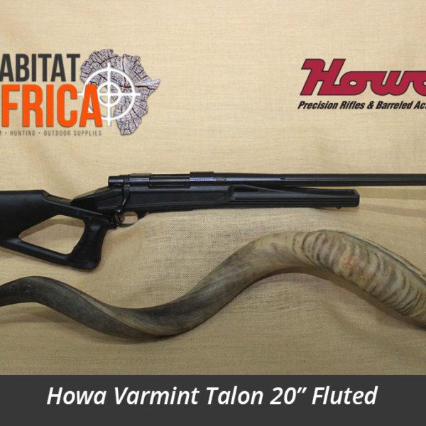 Howa Varmint Talon 20 inch Fluted Hunting Rifle