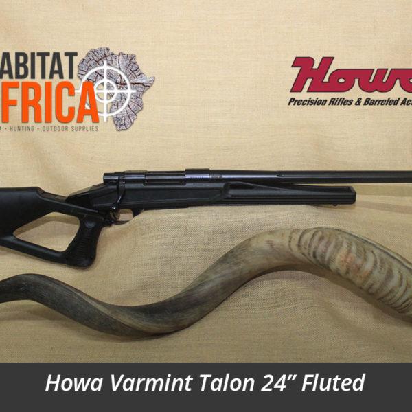 Howa Varmint Talon 24 inch Fluted Hunting Rifle