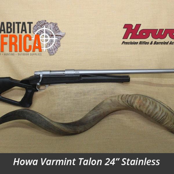 Howa Varmint Talon 24 inch Stainless Hunting Rifle