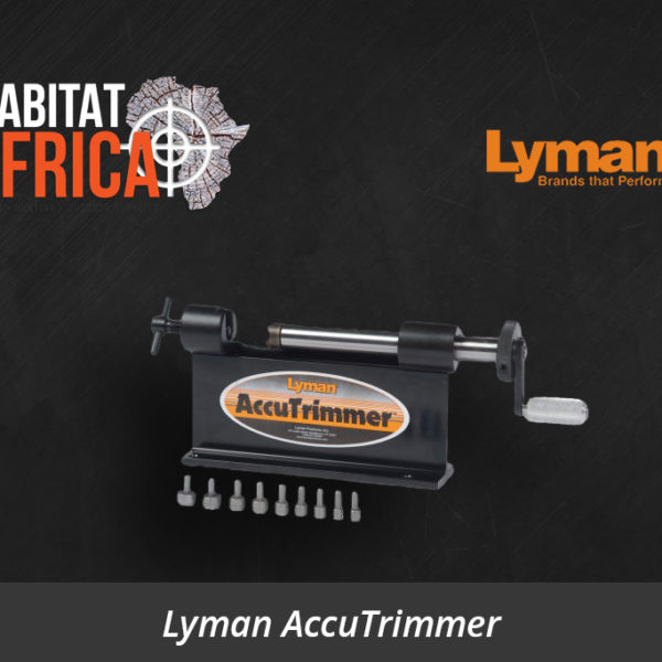 Lyman AccuTrimmer - Habitat Africa | Reloading Equipment | South Africa