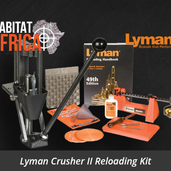 Lyman Crusher II Reloading Kit Single Stage Press - Habitat Africa | Reloading Equipment | South Africa