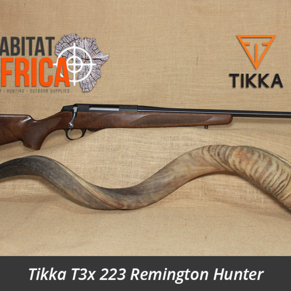 Tikka T3x 223 Remington Hunter Rifle