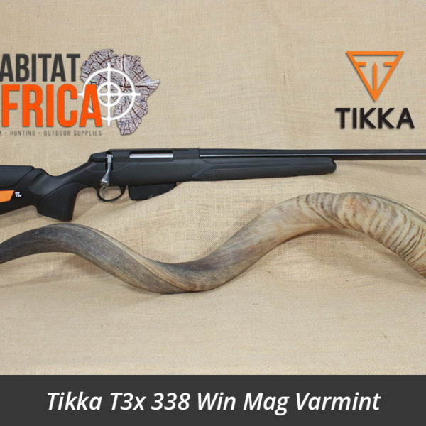 Tikka T3x 338 Winchester Magnum Varmint Hunting Rifle