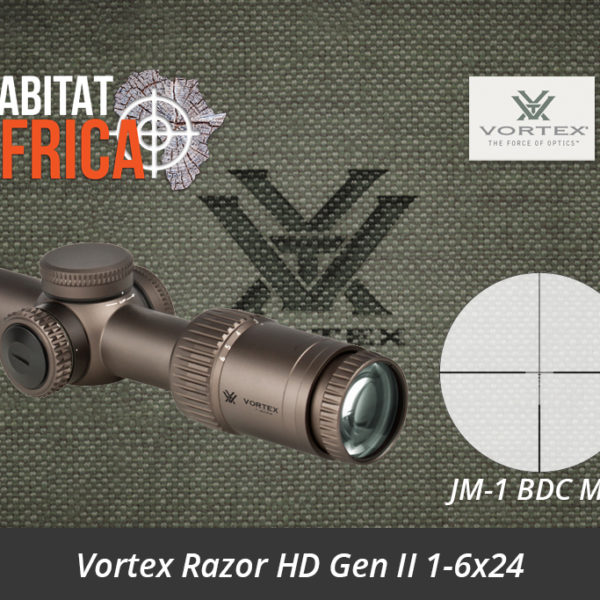 Vortex Razor HD Gen II 1-6x24 Riflescope JM-1 BDC MOA Reticle