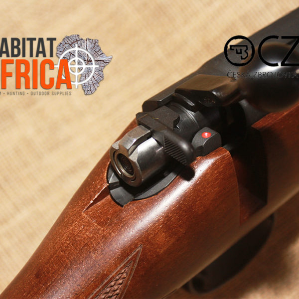 CZ 452 Lux II 22 Magnum Rifle Trigger and Safety