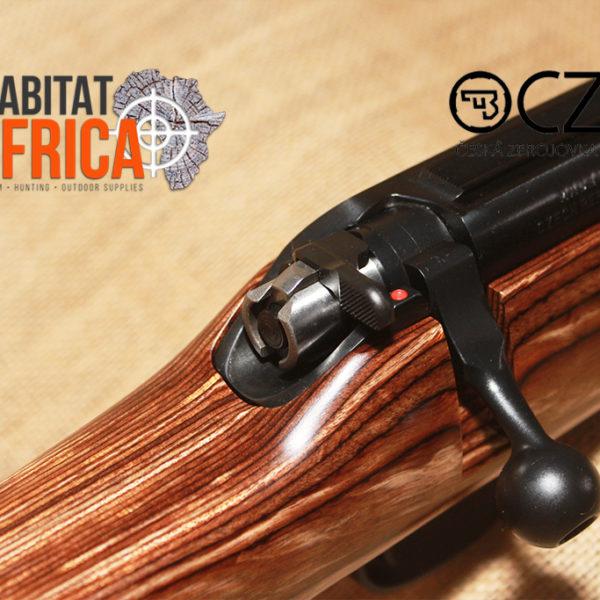 CZ 455 Thumbhole Nutmeg Varmint 22 LR Rifle Bolt and Safety