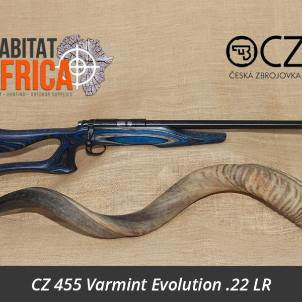 CZ 455 Varmint Evolution 22 LR Rifle