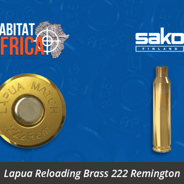 Lapua Reloading Brass 222 Remington