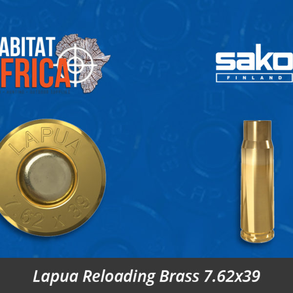 Lapua Reloading Brass 7.62x39 Cartridge