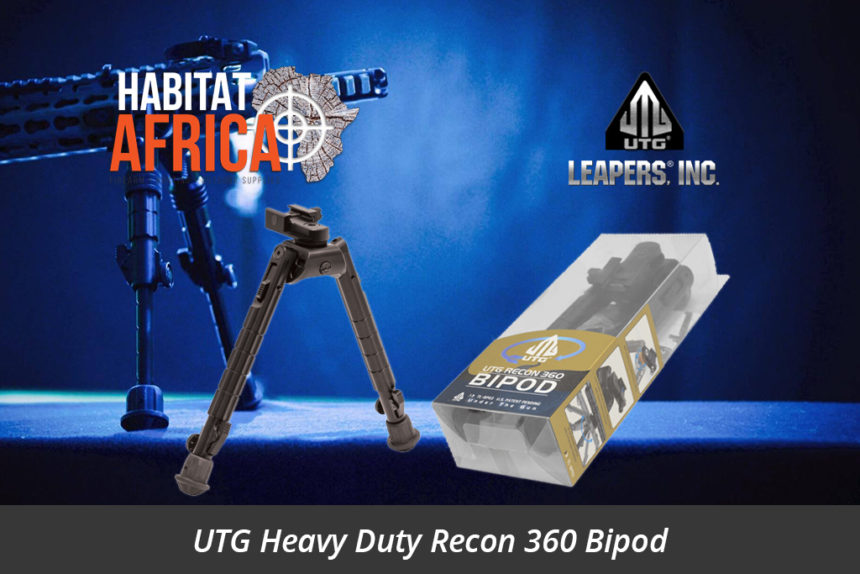 Leapers UTG 360 Degree Recon Leapers Tactical Bipod 206mm-304mm Habitat Africa South Africa