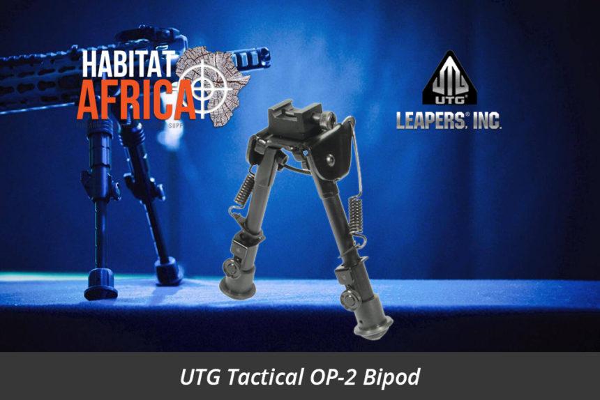 Leapers UTG Tactical OP-2 Bipod Habitat Africa Gun Shop South Africa