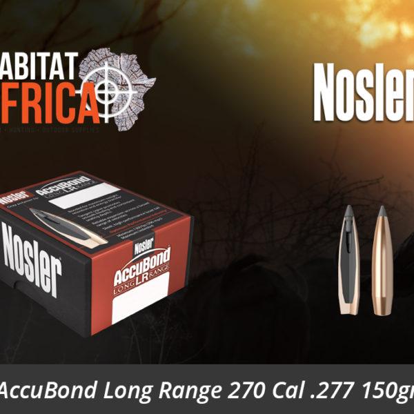 Nosler AccuBond Long Range 270 Cal 277 150gr Bullets