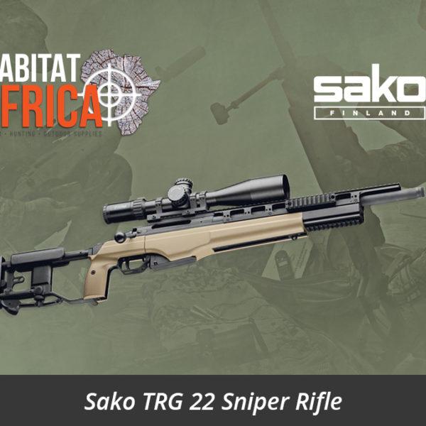 Sako TRG 22 Sniper Rifle Folding Stock MMRS