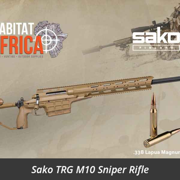 Sako TRG M10 Coyote Brown 338 Lapua Magnum Sniper Rifle - Habitat Africa Gun Shop | South Africa