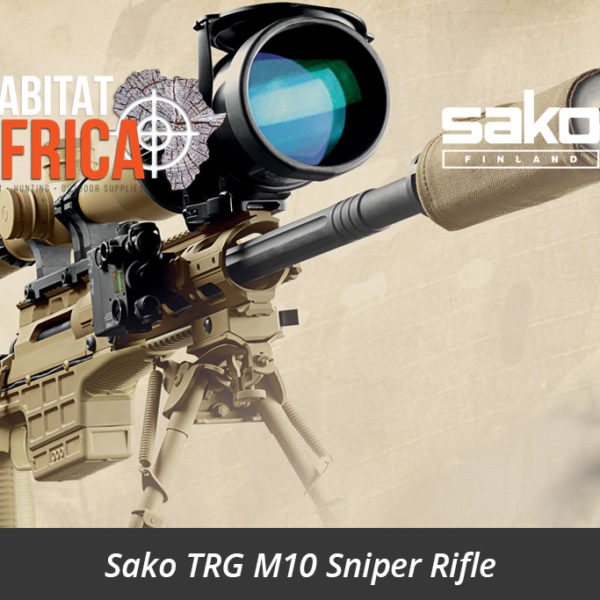 Sako TRG M10 Sniper Rifle - Habitat Africa | Gun Shop | South Africa