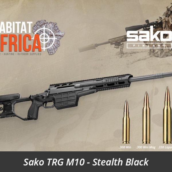 Sako TRG M10 Sniper Rifle - Stealth Black