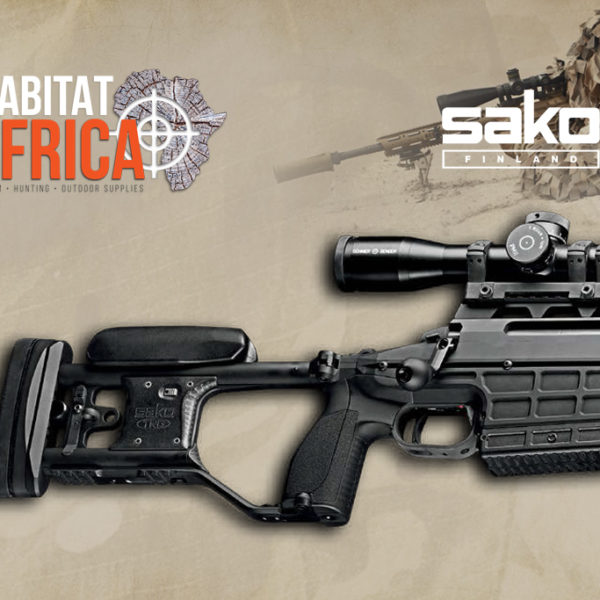 Sako TRG M10 Sniper Rifle - Stealth Black Stock