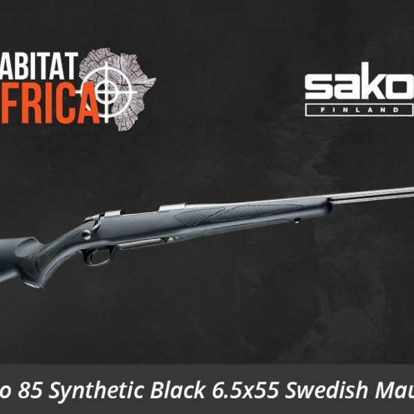 Sako 85 Synthetic Black 6.5x55 Swedish Mauser Rifle
