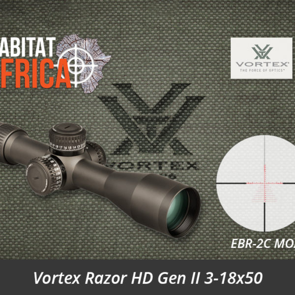 Vortex Razor HD Gen II 3-18x50 Riflescope EBR-2C MOA Reticle
