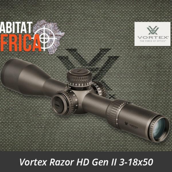Vortex Razor HD Gen II 3-18x50 Riflescope Lense