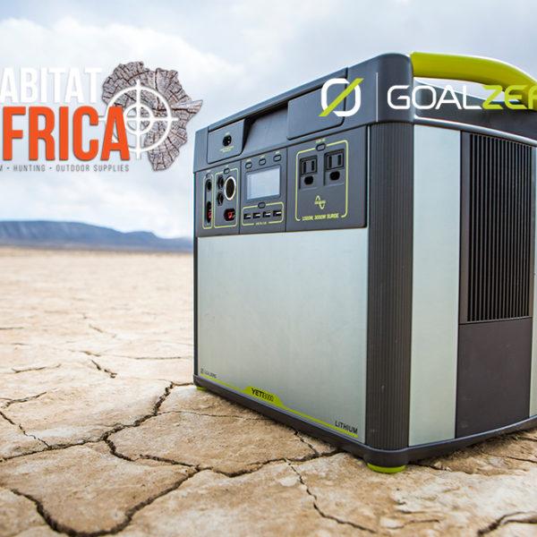Goal Zero Yeti 3000 Lithium Solar Generator Power Anything