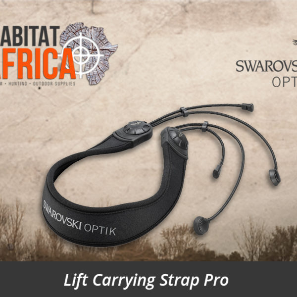 Swarovski LCSP Lift Carrying Strap Pro - Habitat Africa | South Africa | Sport Optics