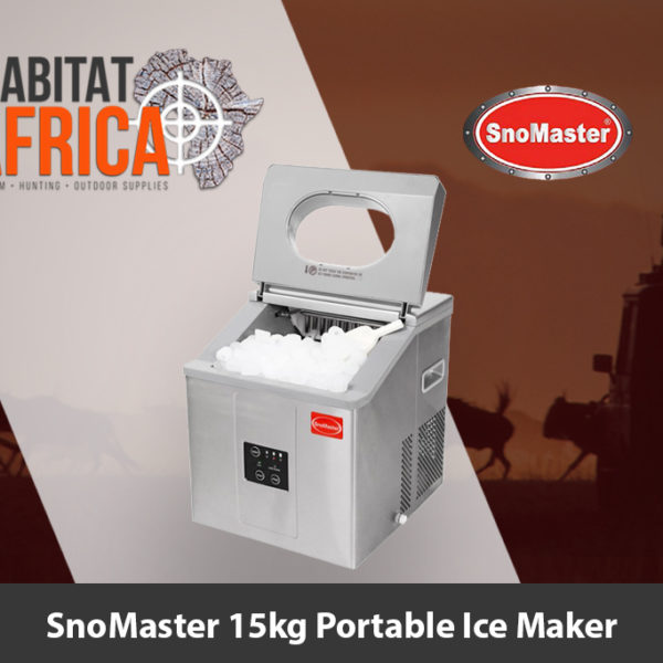 SnoMaster 15kg Portable Ice Maker - Habitat Africa | Camping and Outdoor Supplies | South Africa