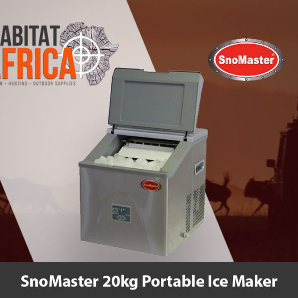 SnoMaster 20kg Portable Ice Maker - Habitat Africa | Camping and Outdoor Supplies | South Africa