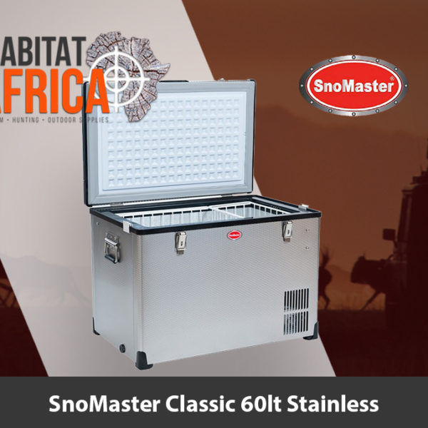 SnoMaster Classic 60 Litre Stainless Steel Fridge Freezer - Habitat Africa | Camping and Outdoor | South Africa
