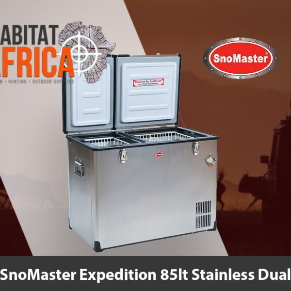 SnoMaster Expedition 85 Litre Stainless Dual Fridge and Freezer - Habitat Africa | Camping and Outdoor Supplies | South Africa