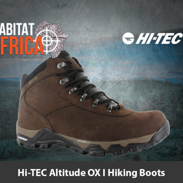 Hi-TEC Altitude OX I Waterproof Hiking Boots - Habitat Africa | Hiking Gear | South Africa