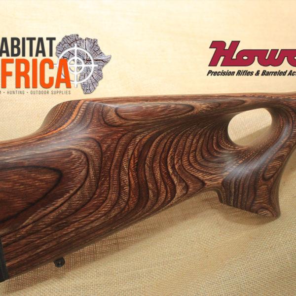 Howa Bush Hunter Thumbhole Nutmeg Laminate Rifle Stock - Habitat Africa   Gun Shop   South Africa