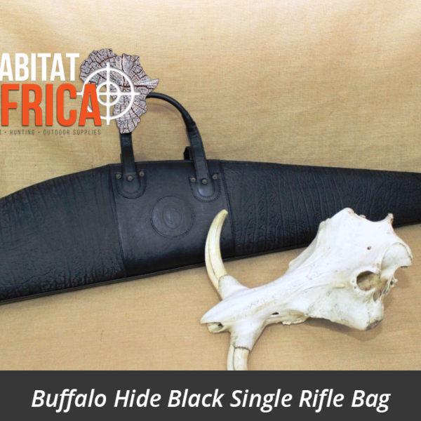 Buffalo Hide Rifle Bag Black