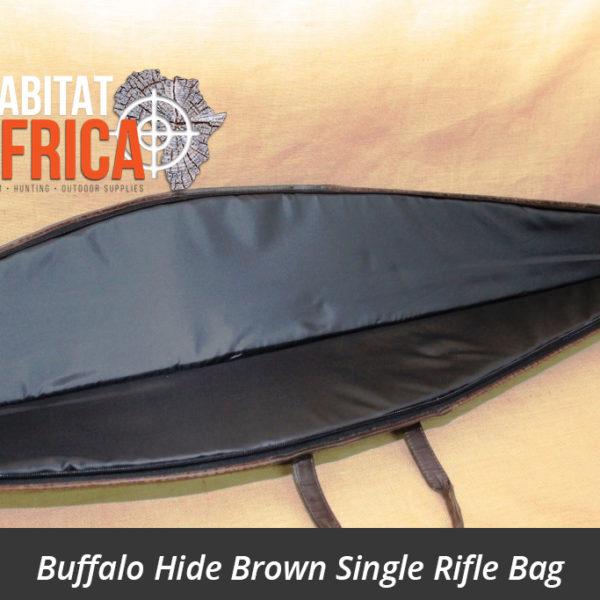 Buffalo Hide Single Rifle Bag Brown