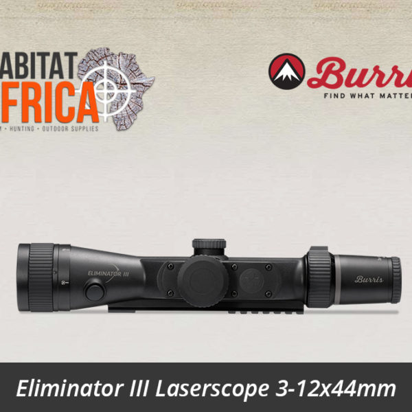 Eliminator III LaserScope 3-12x44mm x96-Reticle
