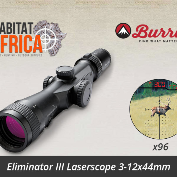 Burris Eliminator III 3-12x44mm LaserScope