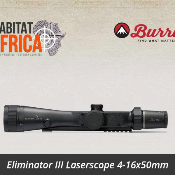 Eliminator III Laserscope 4-16x50mm x96Reticle