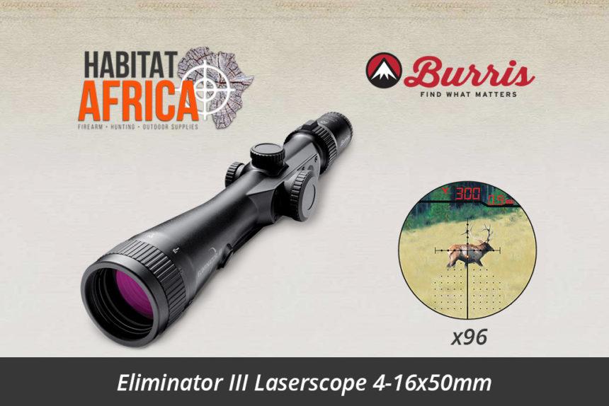 Burris Eliminator III 4-16x50mm LaserScope