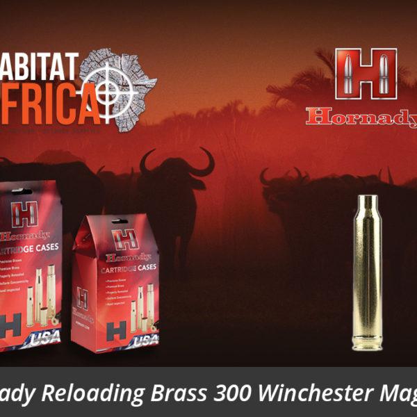Hornady Reloading Brass 300 Winchester Magnum