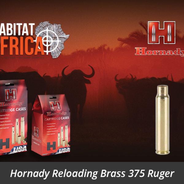 Hornady Reloading Brass 375 Ruger