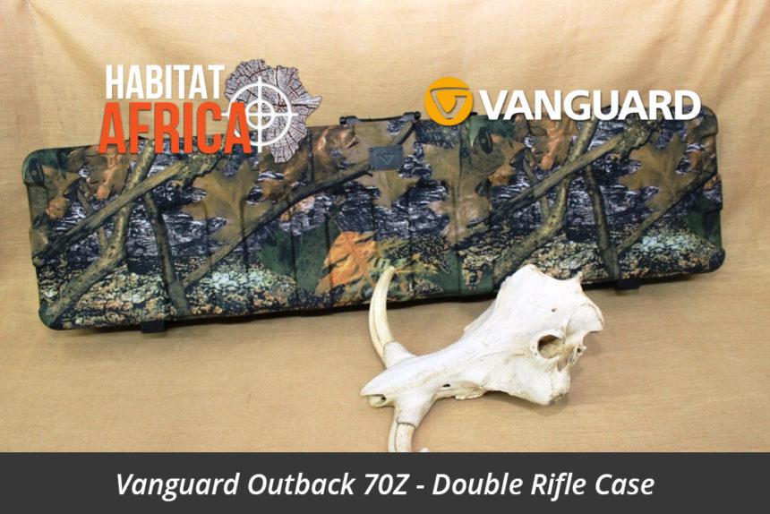 Vanguard Outback 70Z Camo Double Rifle Gun Case